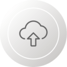 Hosted on most secure Cloud Platform-Amazon Web Services (AWS) icon